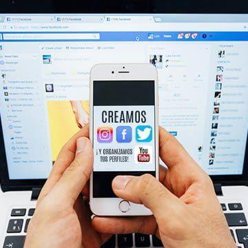 Creamos y organizamos tus perfiles sociales