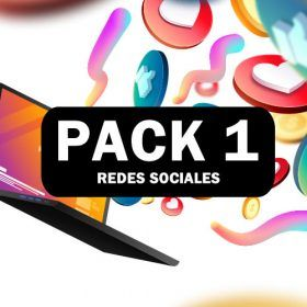 PACK 1 DE REDES SOCIALES.