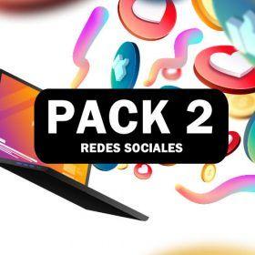 PACK 2 DE REDES SOCIALES