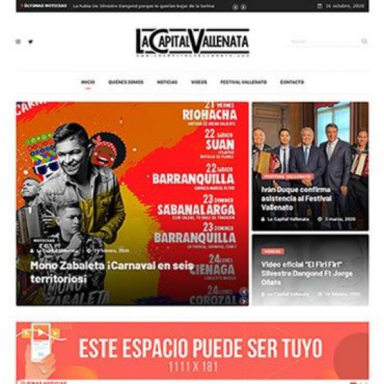 Capital vallenata web