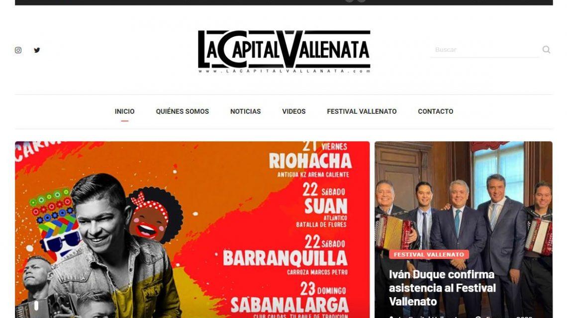 La capital vallenata